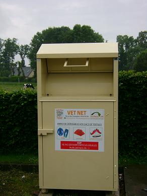 conteneur collecte